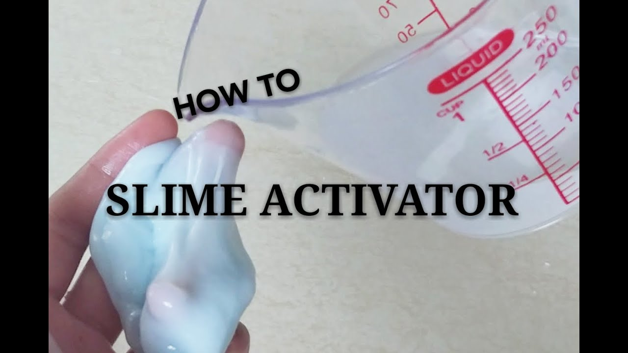 how to make clear slime without borax or liquid starch