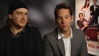 Paul Rudd & Jason Segal talk kids, Russell Brand and Simon C
