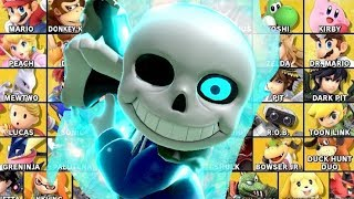 Can Sans Defeat All Characters in Smash Bros Ultimate?