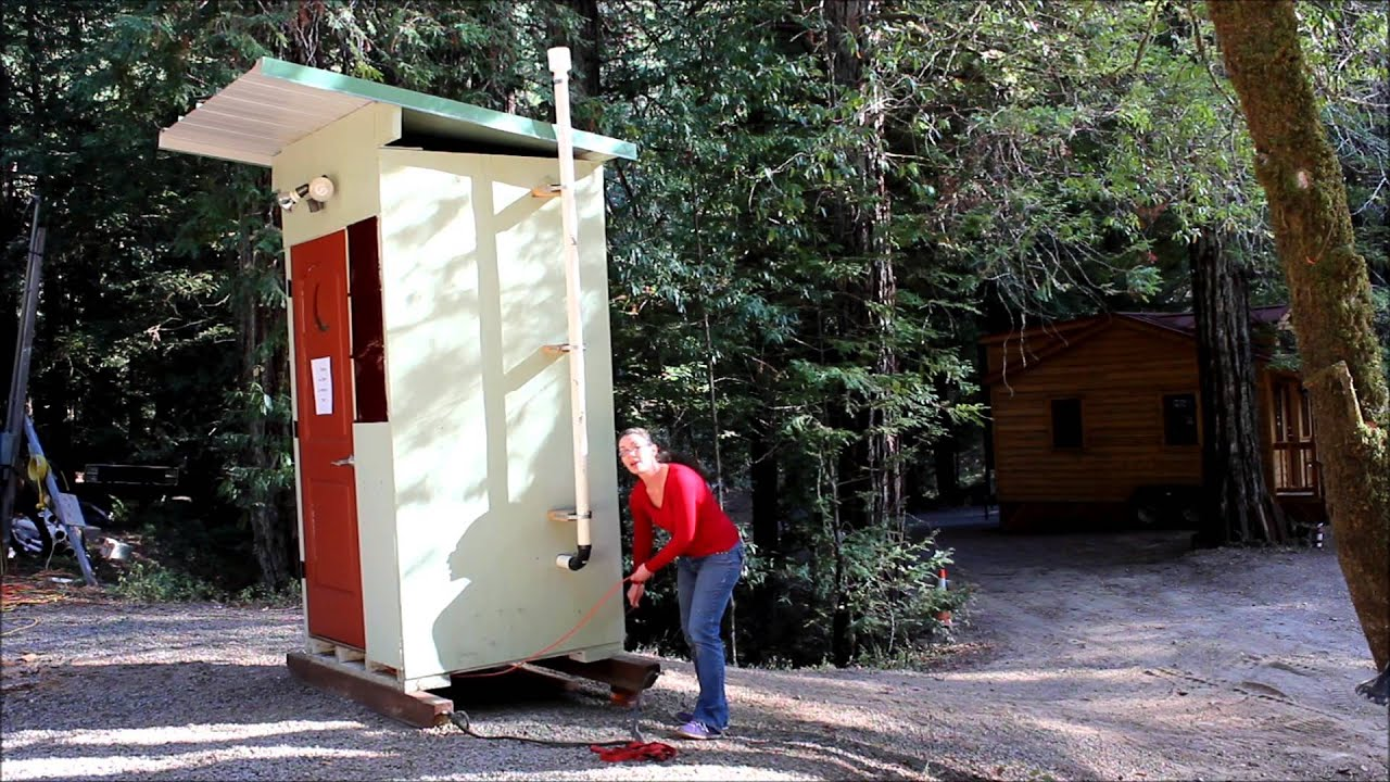 Beautiful Composting Toilet Outhouse