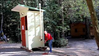 Composting Toilet Outhouse