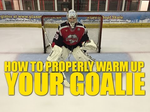 How To Properly Warm Up Your Hockey Goalie – Do's and Don't