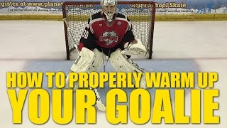 How To Properly Warm Up Your Hockey Goalie - Do