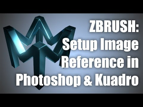 Setting Up Reference In Photoshop and Kuadro