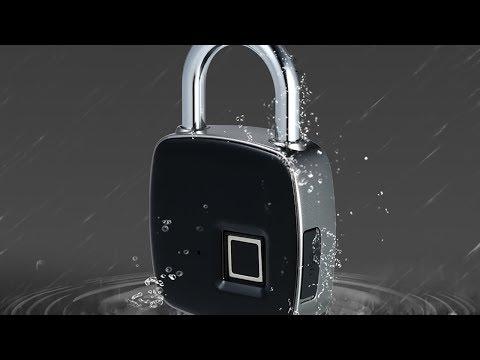 Anahtar Ve Şifre Unutma Derdini Ortadan Kaldıran Parmak İzi Okuyuculu Asma Kilit: Pizen P1