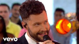 Calum Scott Leona Lewis You Are The Reason Duet Version Live On Good Morning America
