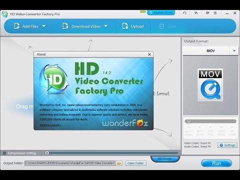 WonderFox HD Video Converter Factory Pro 14.2 Cracked Installation + Download Link