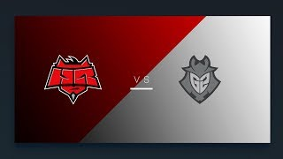 CS:GO - G2 vs. HellRaisers [Inferno] Map 2 - EU Matchday 15 - ESL Pro League Season 8