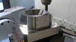 Square Shoulder Milling Operation on a Forming Mold made of Orvar Supreme   Seco Tools