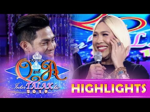 It's Showtime Miss Q and A: Kuya Escort Ion delivers a sweet pick-up line to Vice