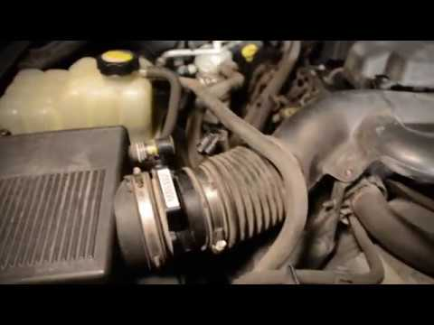 Mass Air Flow Maf Sensor Replacement Silverado Youtube
