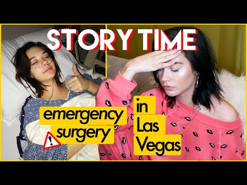 STORYTIME: I WAS RUSHED INTO SURGERY IN VEGAS || AMANDA STEELE
