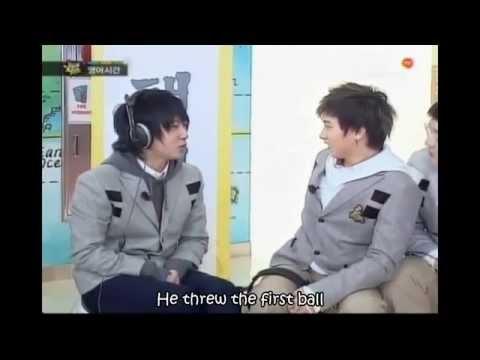 Eng Funny   Super Junior English Game Cut
