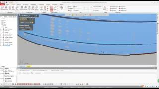 Geomagic Design X - Car Windshield Modeling (Reverse Engineering)