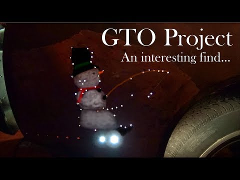 An Interesting Find...GTO Project