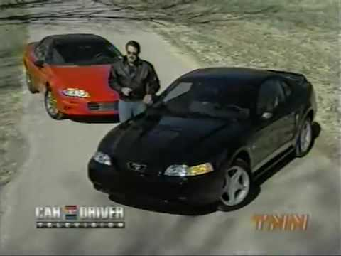 1999 z28 vs 1999 mustang GT car and driver