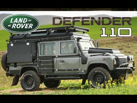Land Rover Defender The Ultimate Camper Conversion Youtube