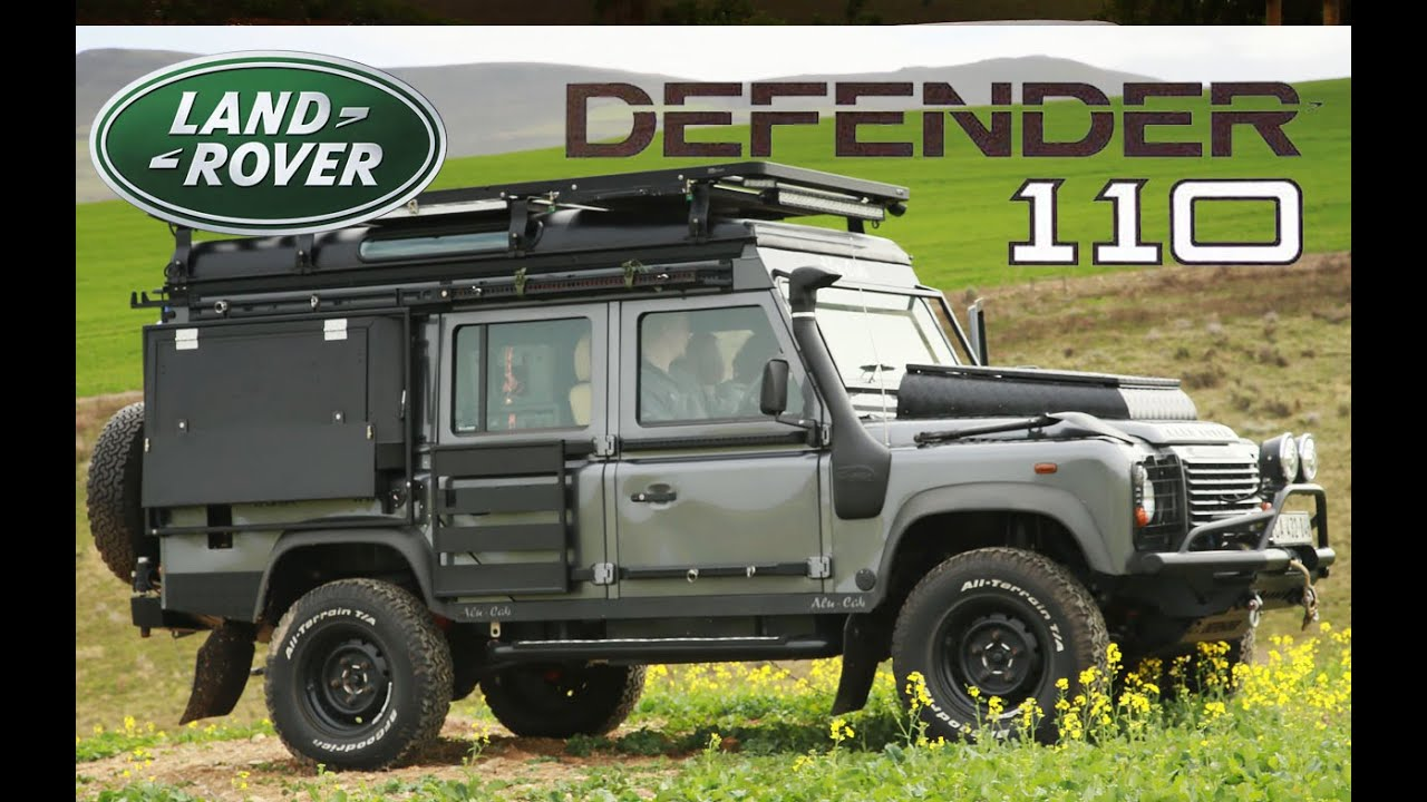 land rover defender the ultimate camper conversion youtube. Black Bedroom Furniture Sets. Home Design Ideas