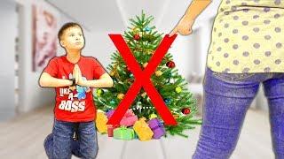 Мама РАЗОЗЛИЛАСЬ и ЗАПРЕТИЛА ЕЛКУ !!! Кто хочет испортить Детям Рождество? Скетчи для детей