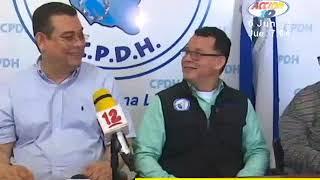 director de la cpdh niega que haya divisin en el organismo
