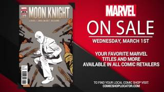 Marvel NOW! Titles for March 1st