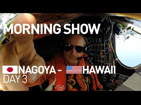 LIVE: Solar Impulse Airplane - Day 3 - Energy Neutral Morning