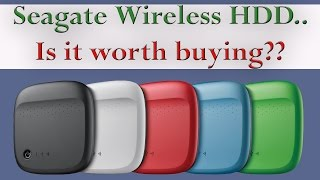 Seagate wireless Mobile portable hard drive 500GB review | Model: 1AYBA5