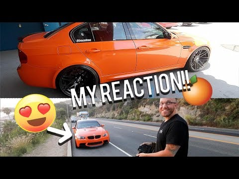Wrapping my E90 BMW M3 in ORANGE?!!