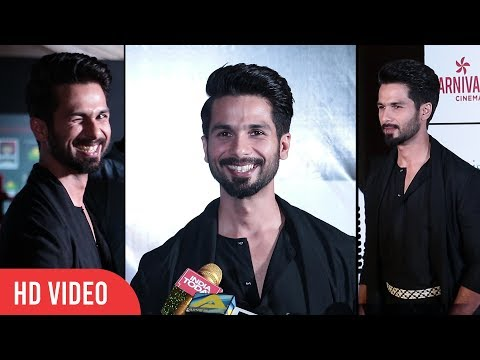 Shahid Kapoor at Dadasaheb Phalke Awards 2018 | Best Actor Male PADMAVAT