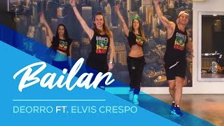 Bailar - Deorro ft Elvis Crespo - Easy Fitness Dance Choreography Zumba