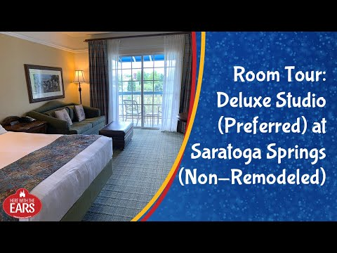 Saratoga Springs - Deluxe Studio Preferred (Non-Remodeled) - Room Tour