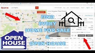 Find Homes For SALE - Find EVERY Open House - RedFin, Zillow, Realtor.com - Real Estate Investing