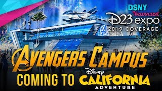 D23 Expo 2019 | MARVEL LAND Becomes AVENGERS CAMPUS at Disneyland Resort - Disney News - 8/23/19