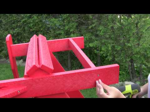 CRP Adirondack Chair Assembly Mp3