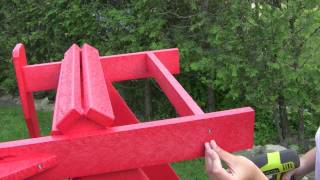Crp Adirondack Chair Assembly