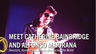 Meet the Artist '17: Catherine Bainbridge and Alfonso Maiorana