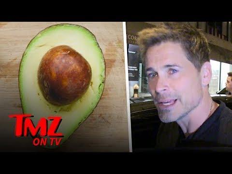 Rob Lowe Says Save Our Avocados!   TMZ TV