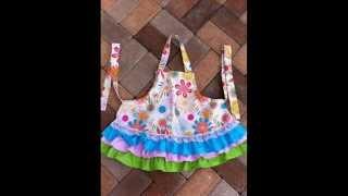 Как сшить ФАРТУК  How to sew an APRON