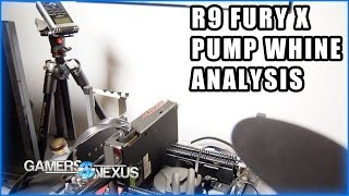 R9 Fury X Pump Whine Frequency Analysis vs. 980 Ti Hybrid
