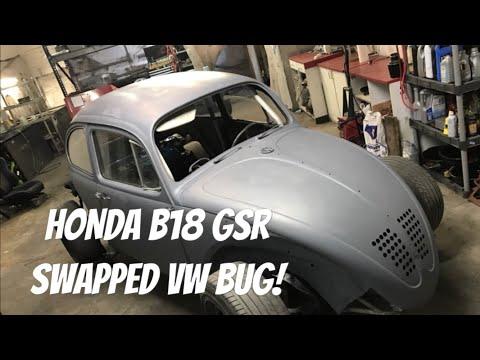 Honda GSR Swapped VW Bug!