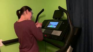 Nordictrack X11i incline trainer with iFit