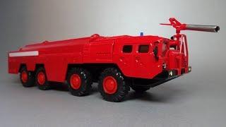 МАЗ-7310 «Ураган» Пожарный автомобиль | АРЕК Элекон | Масштабная модель 1:43