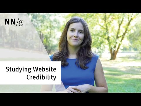 Trustworthiness in Web Design: 4 Credibility Factors