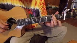 streets of laredo (intermediate fingerstyle ) guitar lesson