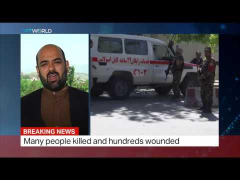 Who is behind  Car bomb blast in Afghan capital Kabul??