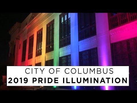 City Of Columbus 2019 Pride Illumination