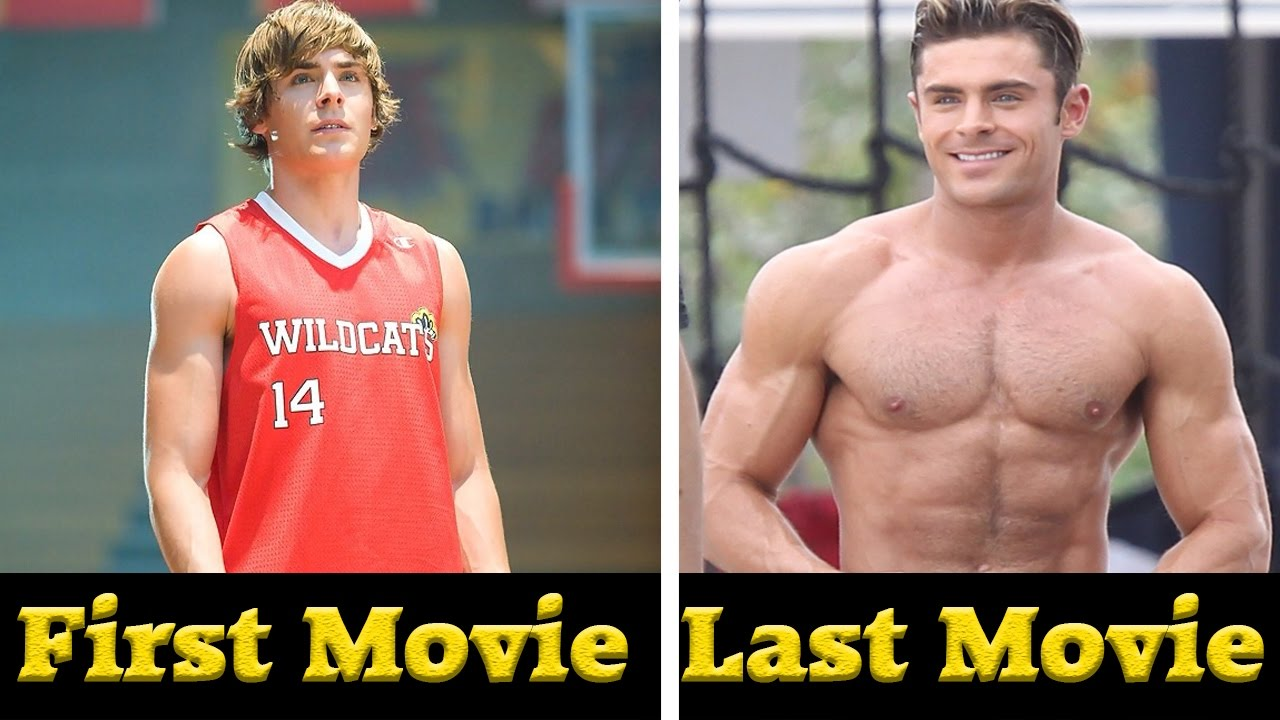 Zac Efron All Movies 2003 2017 Youtube