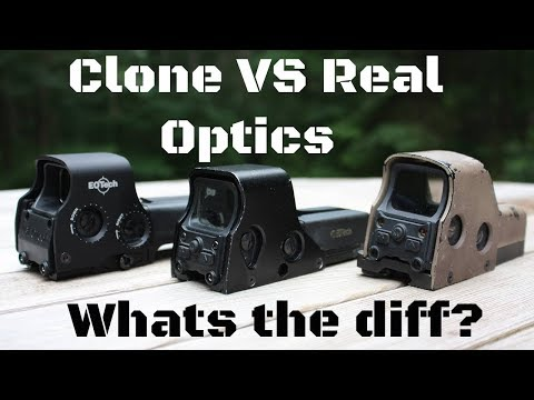 Real Eotech Vs Clone What Are The Differences Airsoft Optics