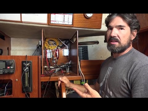 Sailing and Navigation Electronics Installation!- Sailing Ve
