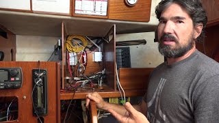 Sailing and Navigation Electronics Installation!- Sailing Vessel Delos
